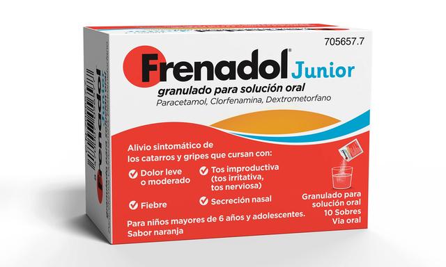 medicamento para la tos y gripa pediatrico